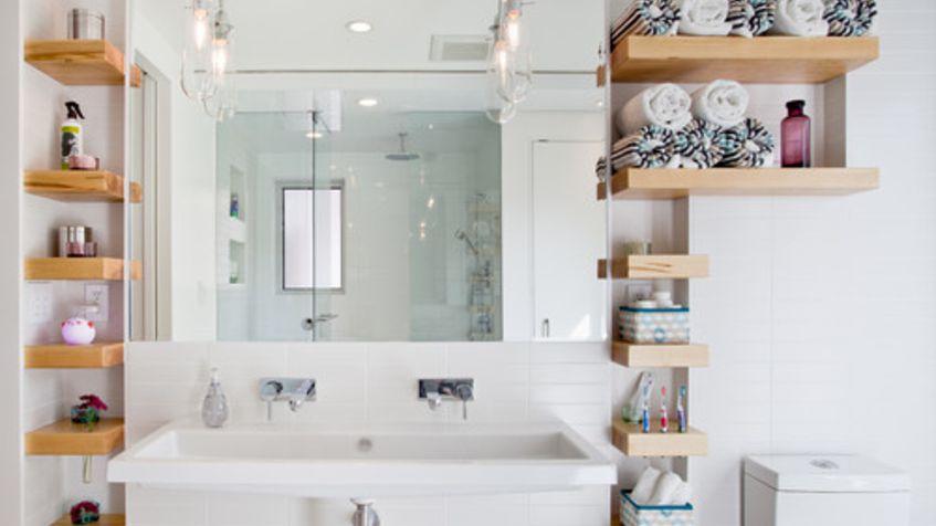 Spacious Bathroom Shelf Ideas Best For You
